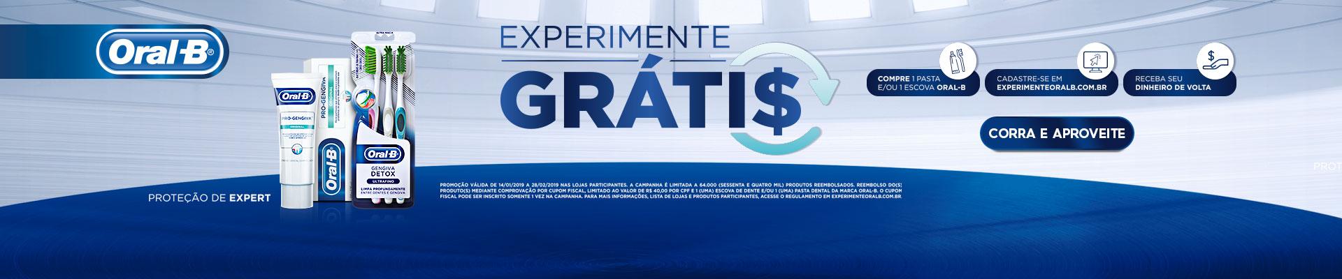 ORAL B EXPERIMENTE GRATIS