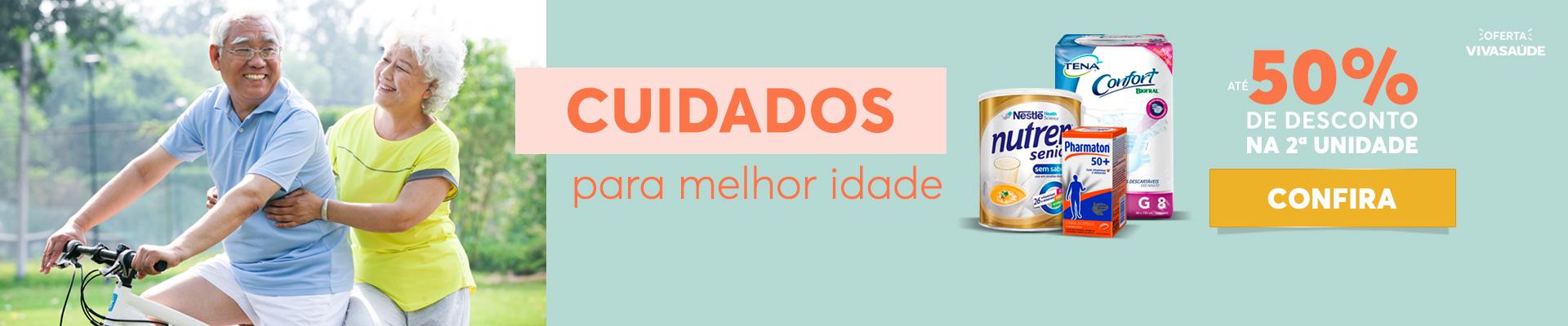CUIDADOS PARA MELHOR IDADE