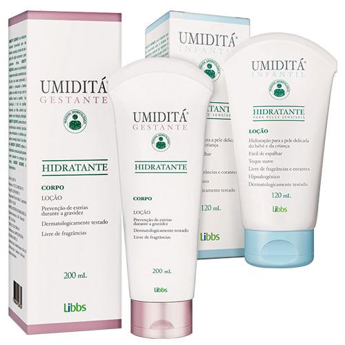 Kit-Umidita-Locao-Hidratante-Gestante-Corpo-200ml---Locao-Infantil-Pele-Sensivel-120ml-Pacheco-92345531