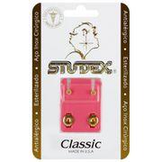 brinco-antialergico-studex-classic-bezel-cristal-medio-dourado-Pacheco-677493