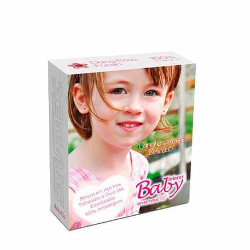 brinco-studex-baby-daisy-cristal-rosa-fucsia-1-par-Pacheco-680915