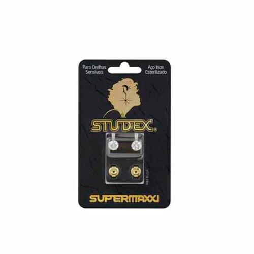 brinco-studex-supermaxxi-pedra-branca-dourado-1-par-Pacheco-680966