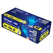 Luva-Nitrilica-Bompack-Azul-Sem-Po-Tamanho-M-100-Unidades-Pacheco-714720