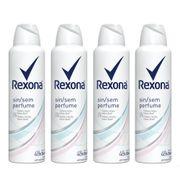 Kit-Desodorante-Rexona-Aerosol-Feminino-Sem-Perfume-150ml-4-Unidades-Pacheco-935125438