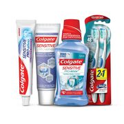 Kit-Colgate-Sensitive-Pro-Alivio-Creme-Dental-90g-Enxaguante-Bucal-250ml-Escova-Dental-2-Unidades-Creme-Dental-110g-Pacheco-935125641