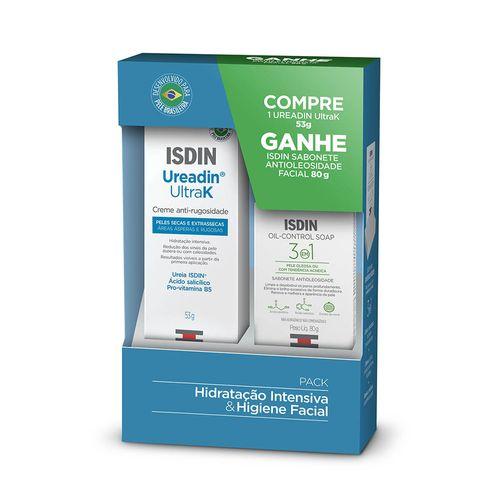 Kit-Isdin-Creme-Anti-Rugosidade-Ureadin-UltraK-53g-Sabonete-em-Barra-Oil-Control-Soap-3-em-1-80g-Pacheco-715352