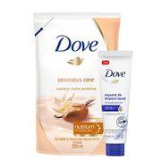 Kit-Dove-Sabonete-Liquido-Nutritivo-Karite-Refil-200ml--Espuma-De-Limpeza-Facial-Hidratacao-Essencial-15g-Pacheco-935125754