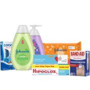 Kit-Johnsons-Sabonete-Liquido-400ml-Band-Aid-40-Unidades--Shampoo-400ml--Hipoglos-120g--Lenco-Umedecido-44-Unidades--Cotonete-75-Unidades-Pacheco-935125774