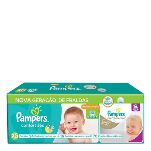 578150---kit-fralda-descartavel-pampers-confort-sec-xg-54-unidades-16-fraldas-premium-care-xg
