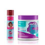 Kit-Beleza-Natural-Shampoo-Classicos-Hidratacao-300ml---Creme-De-Tratamento-Cachos-Soltos-500g-Pacheco-935127580