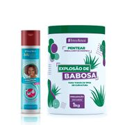 Kit-Beleza-Natural-Condicionador-Classicos-Hidratacao-300ml---Creme-Para-Pentear-Explosao-De-Babosa-1kg-Pacheco-935127582