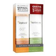 Kit-Protetor-Solar-Episol-Sec-OC-FPS60-60g-Sabonete-Liquido-Epidac-OC-100ml-Pacheco-721980