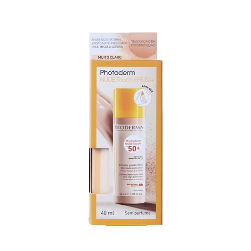 Protetor Solar Facial Bioderma - Photoderm Nude Touch