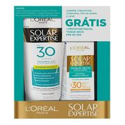 690376---kit-protetor-solar-corporal-loreal-expertise-fps30-200ml---facial-toque-seco-fps30-25g