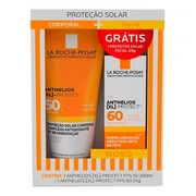 Kit Protetor Solar Corporal La Roche Posay Anthelios XL Protect FPS50 + Protetor Solar Facial XL Protect FPS60