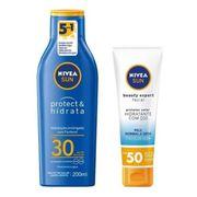 Kit-Nivea-Protetor-Solar-Protect-Hidrata-FPS30-200ml---Protetor-Facial-Beatuy-Expert-FPS50-50g-Pacheco-718297