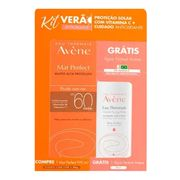 Kit-Avene-Protetor-Solar-Facial-Mat-Perfect-Fluido-com-Cor-FPS60-40g--agua-Termal-50ml-Pacheco-719617