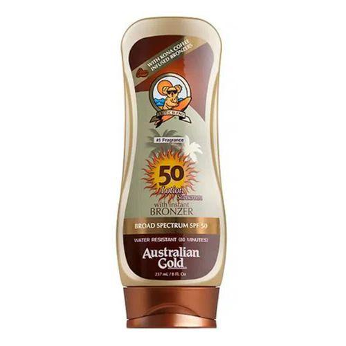 Protetor Solar Corporal Australian Gold  Kona Coffee FPS 50 237ml