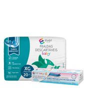 Kit-Fralda-Descartavel-Ever-Care-Baby-XG-20-Unidades---Creme-Preventivo-de-Assaduras-Ever-Care-120g-Pacheco-935137771