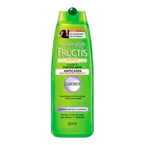 Shampoo Fructis Anticaspa Cabelos Oleosos 300ml