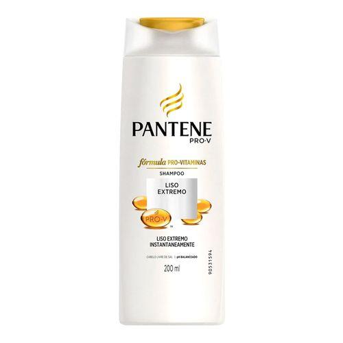 Shampoo Pantene Liso Extremo 200ml
