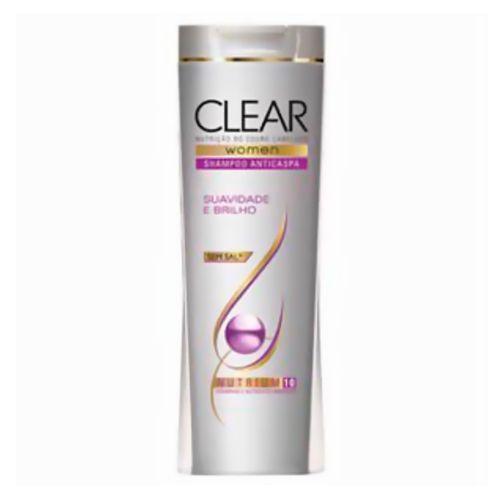 Shampoo Clear Suavidade e Brilho 400ml