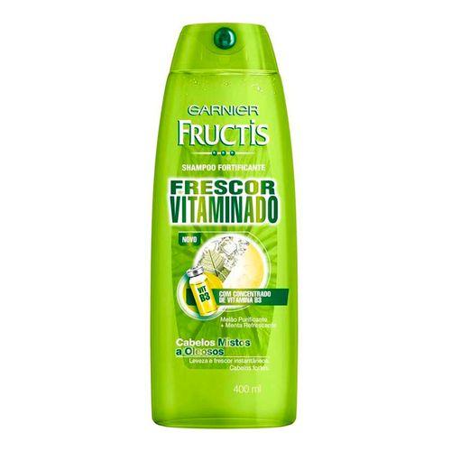 Shampoo Fructis Frescor Vitaminado 400ml