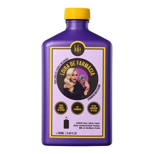 Shampoo Matizador Lola Loira de Farmácia 250ml