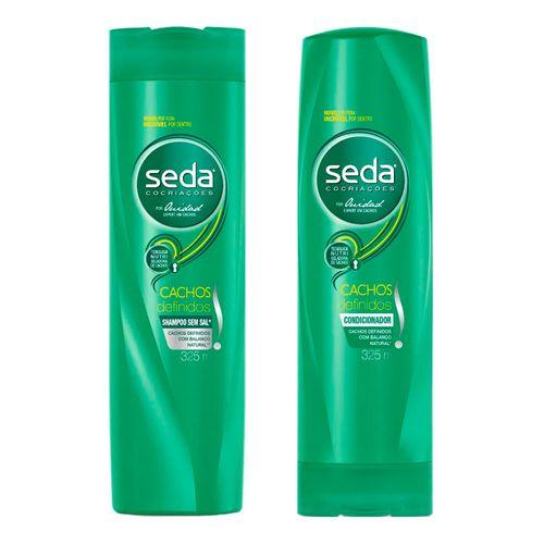 Kit Seda Cachos Definidos Shampoo + Condicionador 325ml