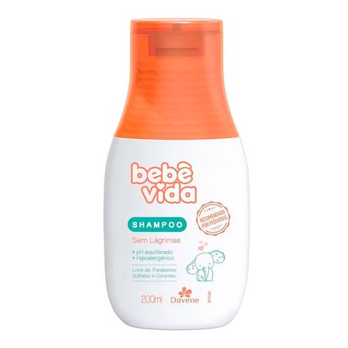 Shampoo Davene Bebê Vida Sem Lágrimas 200ml