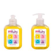 Kit Fiorucci I Love Baby Shampoo 250ml + Sabonete Líquido 250ml