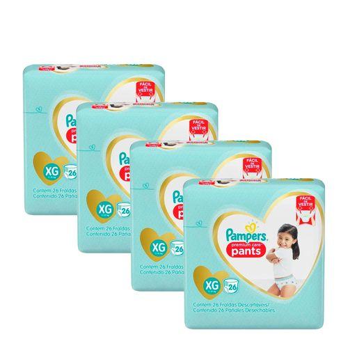 935137963---Kit-Fralda-Pampers-Pants-Premium-Care-XG-26-unidades-4-Pacotes