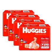 935137951---Kit-Fralda-Huggies-Supreme-Care-M-80-Unidades-4-Pacotes