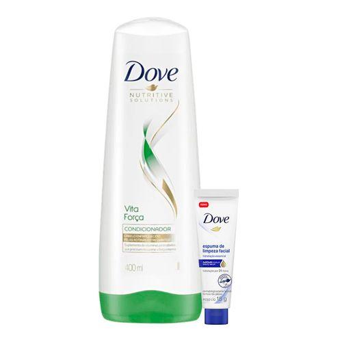 Kit-Dove-Condicionador-Vita-Forca-Nutritive-Solutions-400ml-Espuma-De-Limpeza-Facial-Hidratacao-15g-935138047