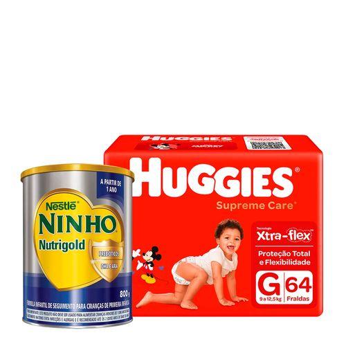 935138232---Kit-Fralda-Huggies-Supreme-Care-G-64-Unidades---Formula-Infantil-Ninho-Nutrigold-800g