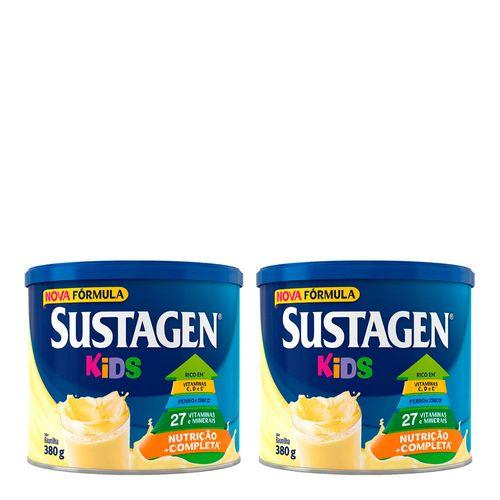 935138267---Kit-Complemento-Alimentar-Sustagen-Kids-Baunilha-380g-2-Unidades