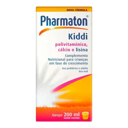 Polivitamínico Pharmaton Kiddi Boehringer 200ml