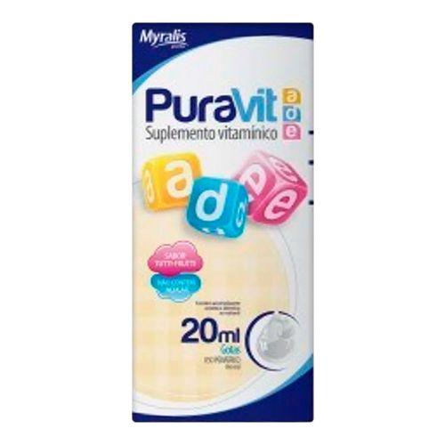 Puravit A D E Myralis 20ml Gotas