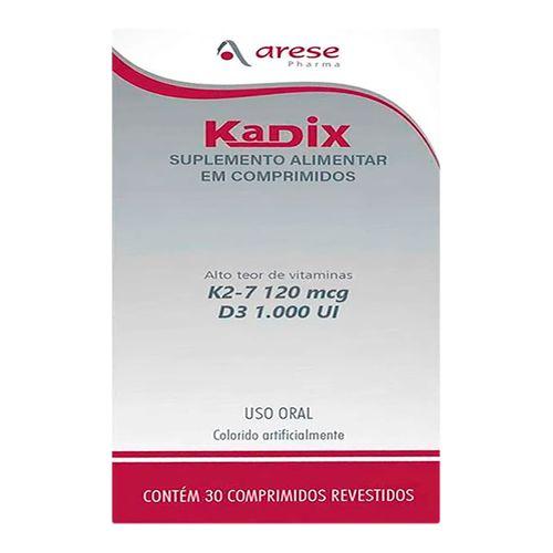 Suplemento Alimentar Kadix 30 Comprimidos