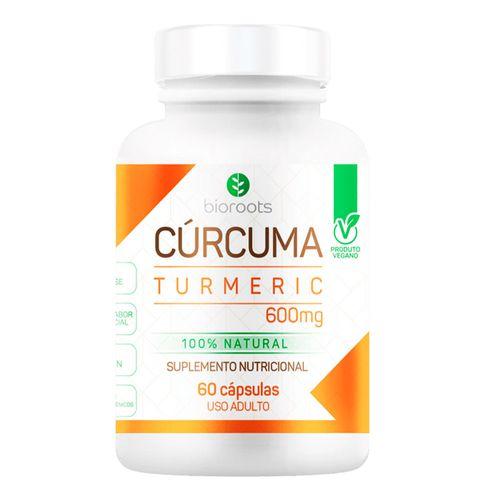 Suplemento Nutricional Bioroots Cúrcuma 60 Cápsulas