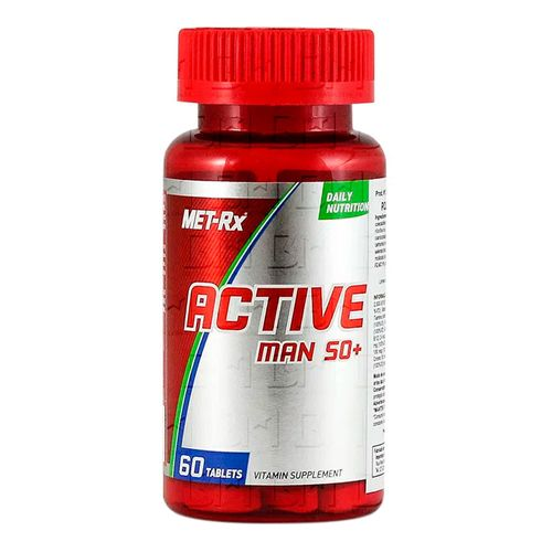 Complexo Vitamínico Active 50+ 60 tabletes - MET-RX