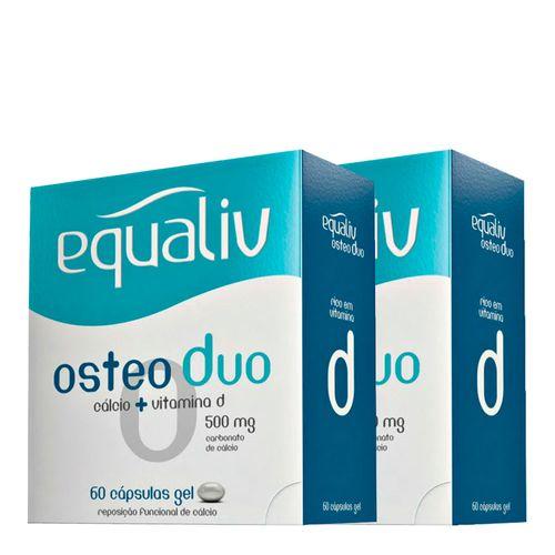 Equaliv Osteoduo 60 Cápsulas 2 Unidades